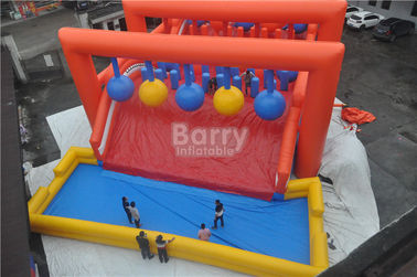 Huge Crazy Inflatable Obstacle Course For Adults / Inflatable Outdoor Play Equipment