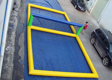 Fun Inflatable Pool Toys Inflatable Beach Volleyball Court For Water
